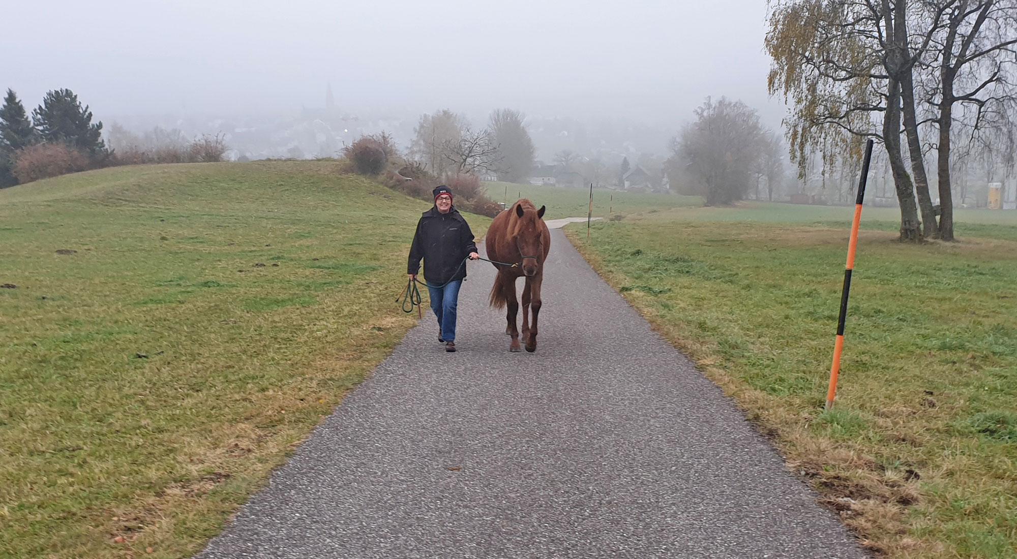 Spaziergang mit Chérie